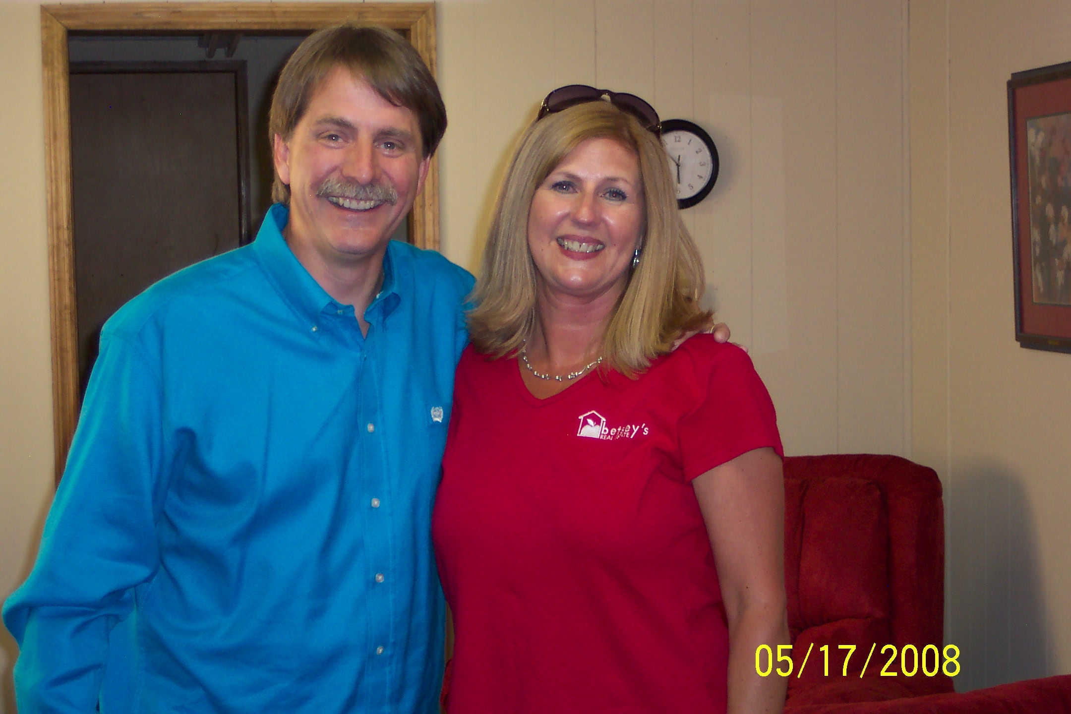 Jeff Foxworthy and me
